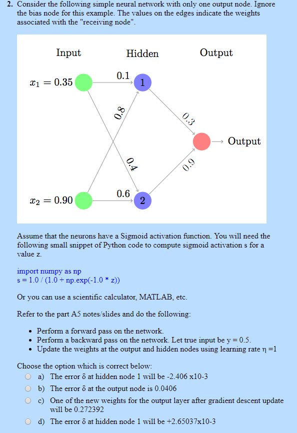 Neural networks activation function python | An overview of