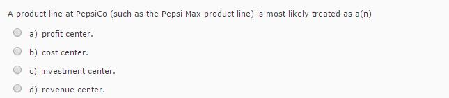pepsi product line