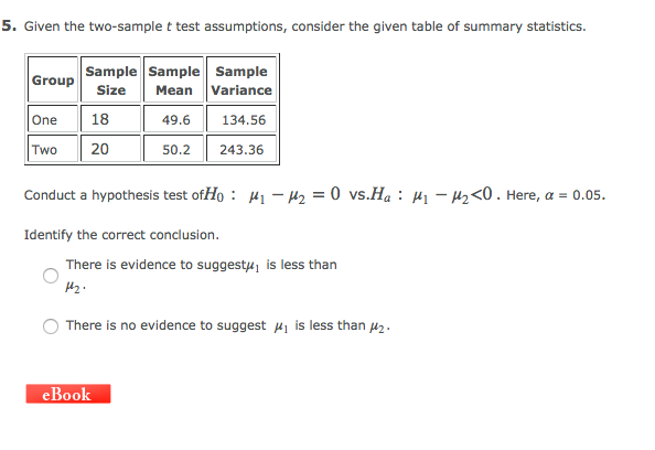 Power analysis for two-group independent sample t-test | g*power.