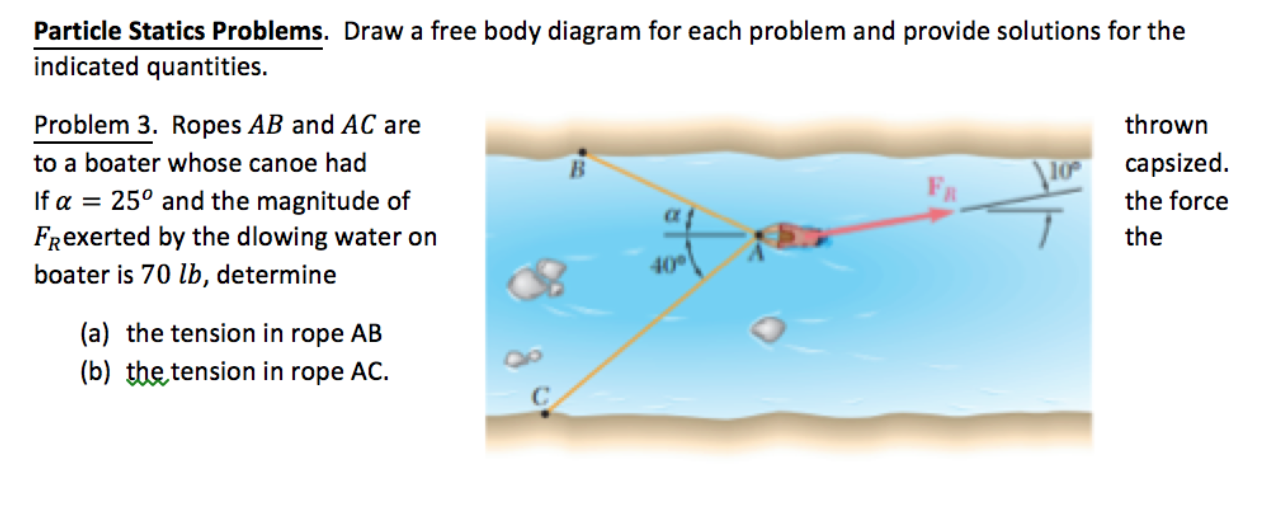 Solved draw a free body diagram for each problem and prov draw a free body diagram for each problem and prov ccuart Choice Image