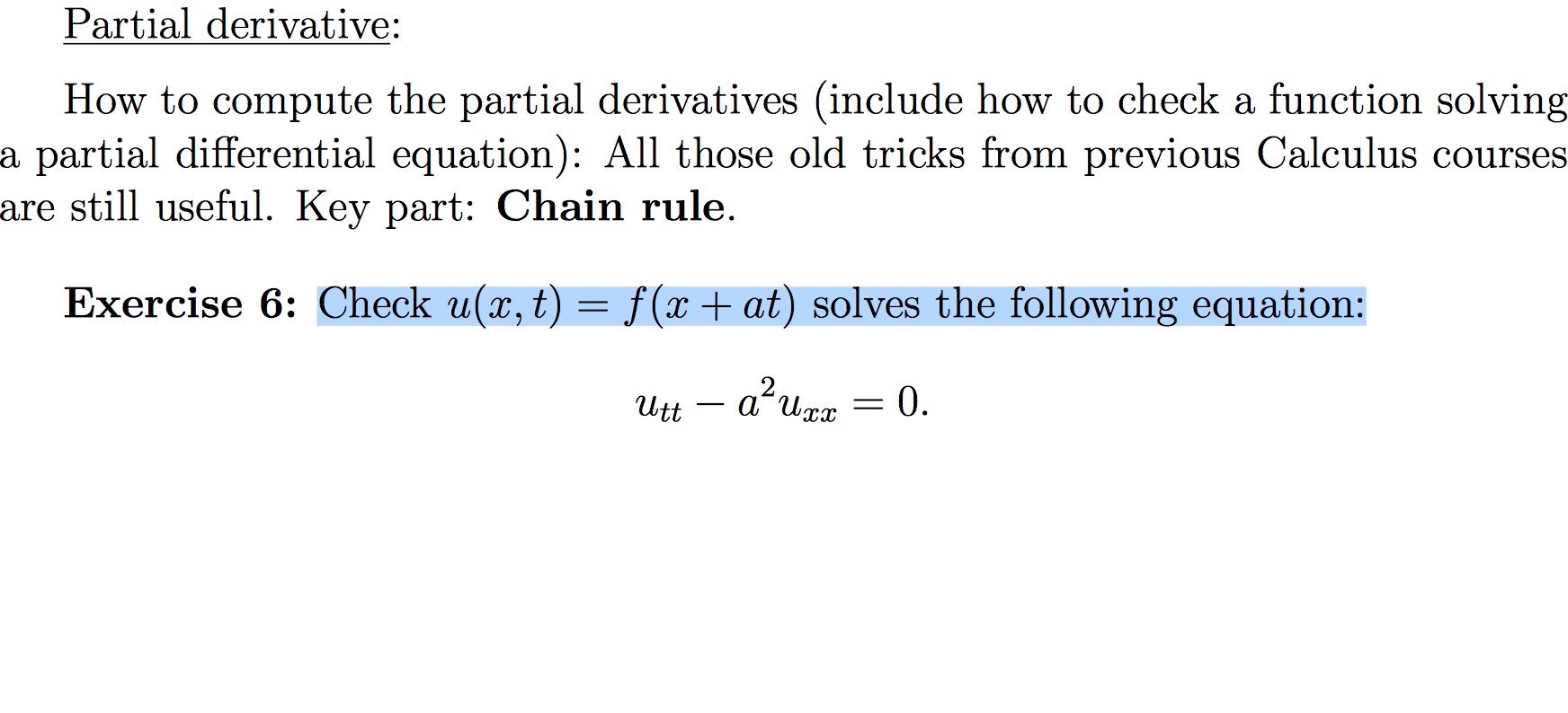 Solved: Partial Derivative How To Compute The Partial Deri