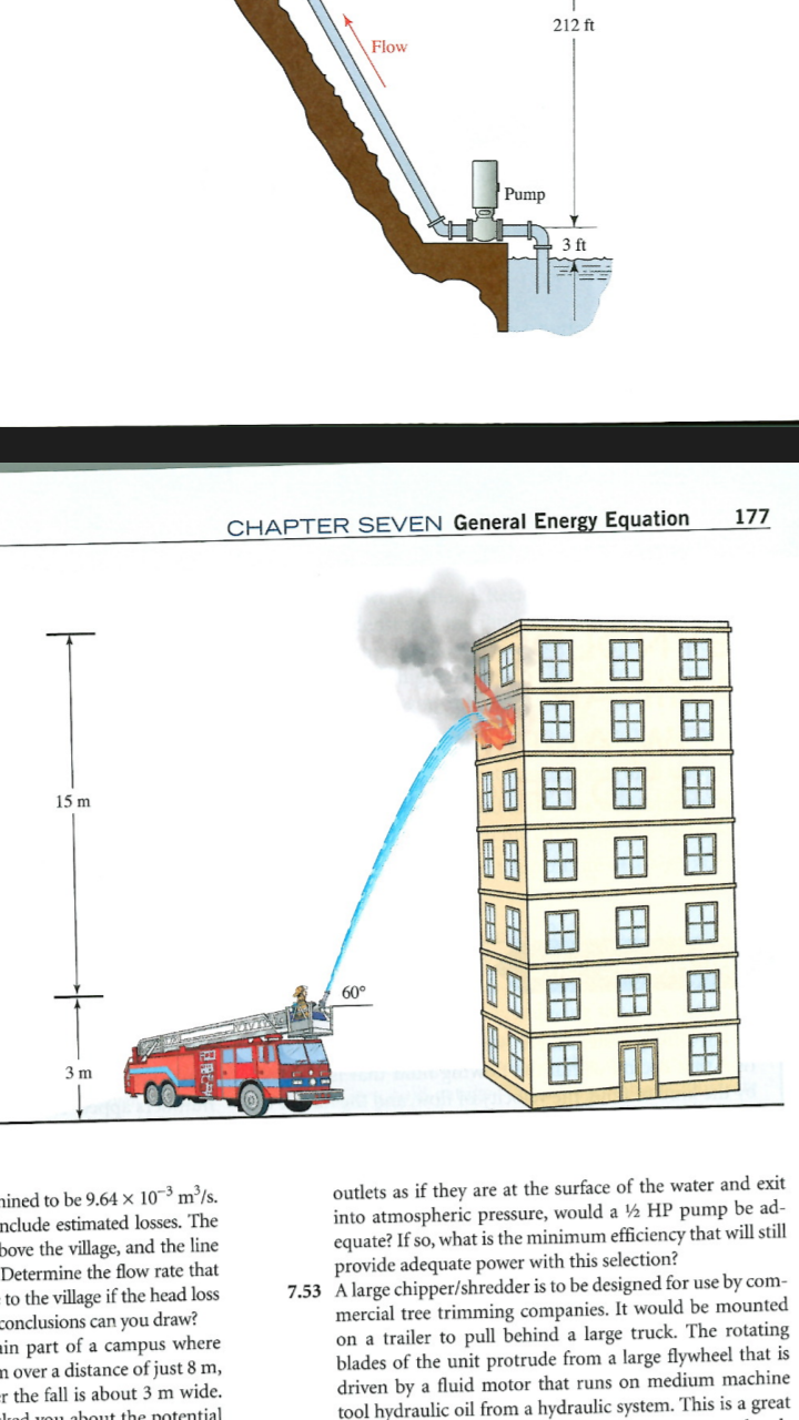 Fire Engine Pump Truck Diagram Electrical Wiring Pierce Solved 7 48 A Utilizes Its To Drive P Water