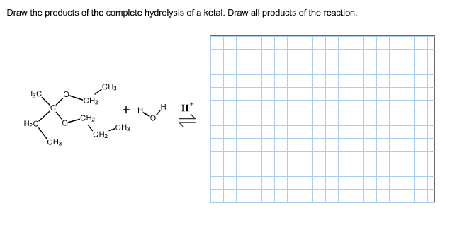 Solved Draw The Products Of The Complete Hydrolysis Of A