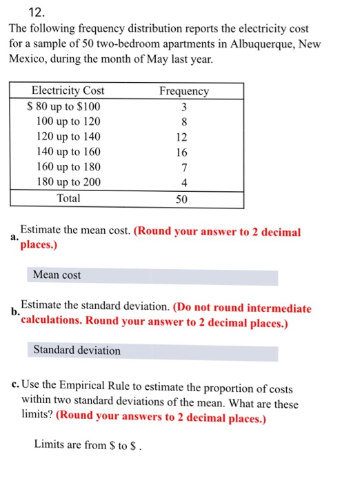 82 the following frequency distribution reports the electricity cost for a sample of 50 two bedroom  1151 in those cases in which a product is proposed for use in ohio, but such product does not meet specific standards set by the ohio fire code, the state fire marshal may require authenticated research reports from conformity assessment bodies recognized by the board of building standards pursuant to section 114 of the ohio building code.