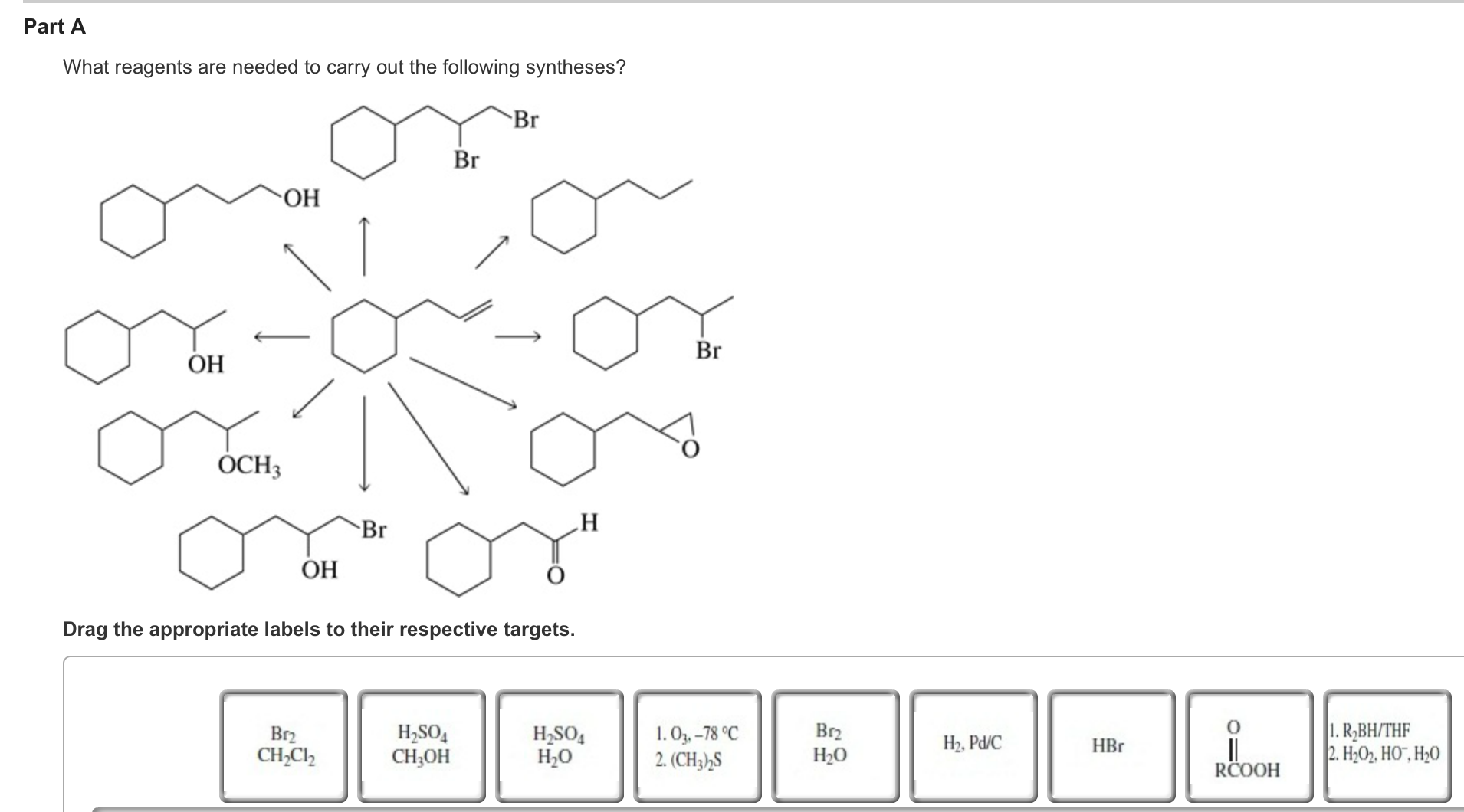 Solved: What Reagents Are Needed To Carry Out The Followin