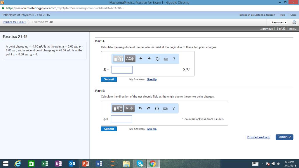 solved masteringphysics practice for exam 1 google chrom rh chegg com Mastering Physics Problem Mastering Physics Answers PDF
