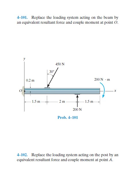 resultant of force system problems with solutions pdf