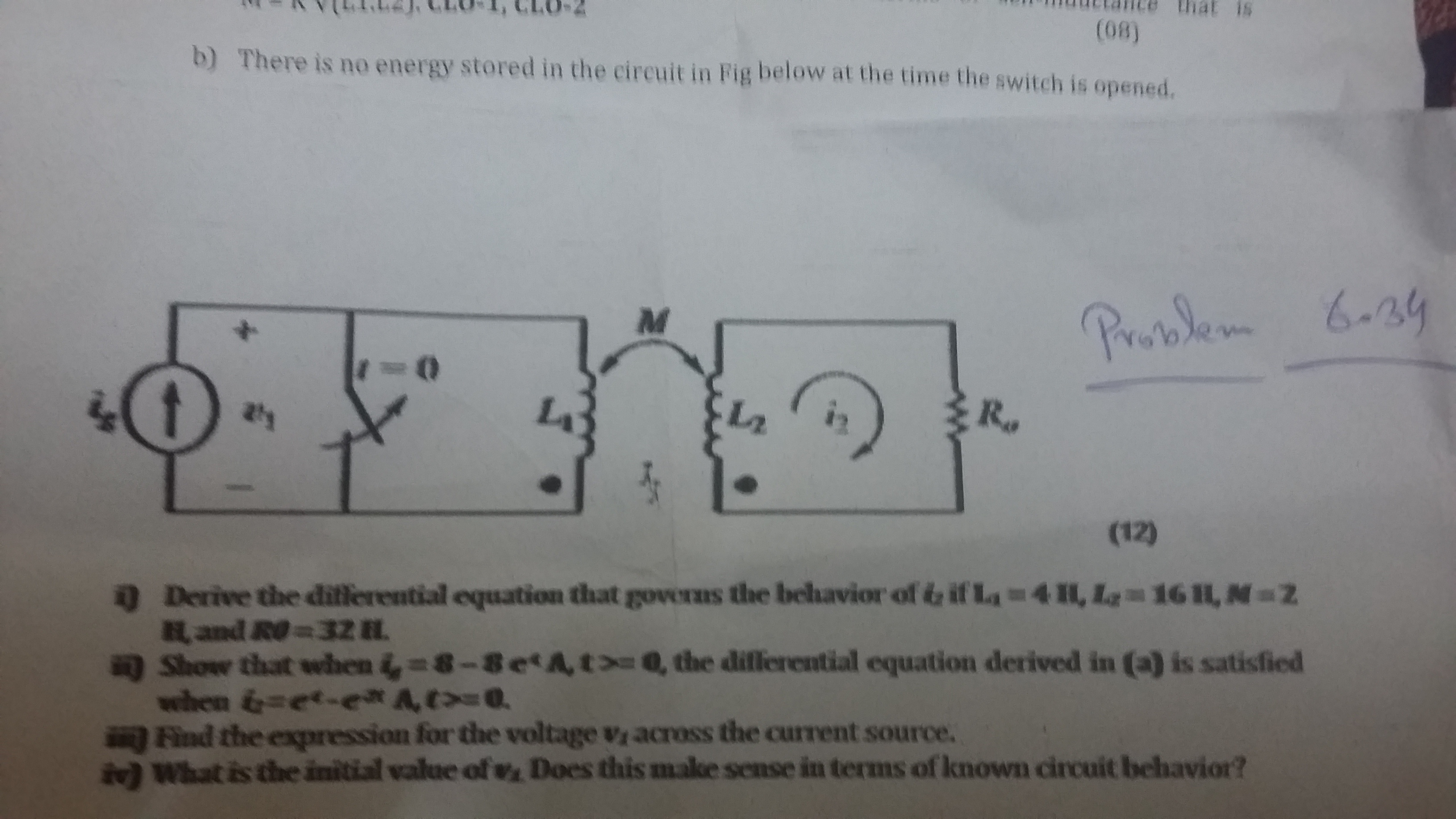 Solved Kindly Solve These Question From Electric Circuit Electrical Troubleshooting Basic 4 Problems