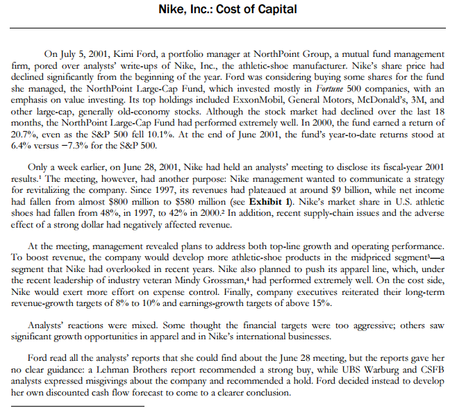 analysis of nike inc essay Nike case analysis prepared for consumer behavior introduction nike is the largest seller of athletic footwear and athletic apparel in the world with subsidiaries in over 200 countries across the world.