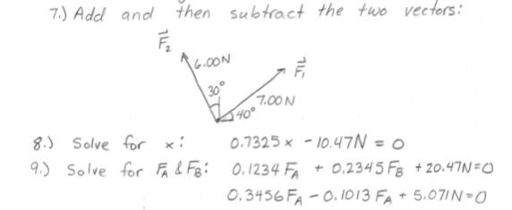 how to solve airplane questions vectors