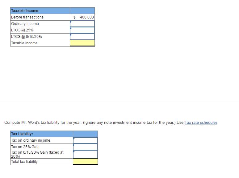 Please Complete Form 1040 Schedule D Form 4797 1 Chegg