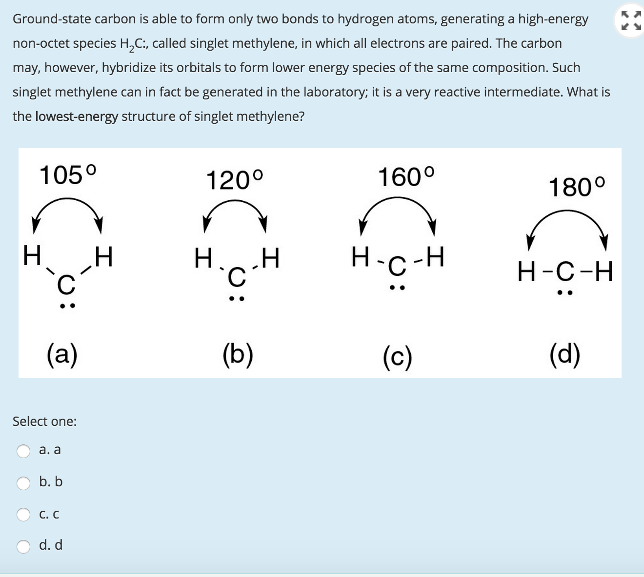 Chemistry archive august 31 2015 chegg image for ground state carbon is able to form only two bonds to hydrogen atoms biocorpaavc Image collections