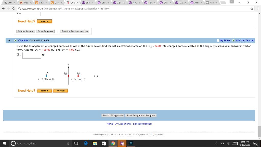 help with webassign homework