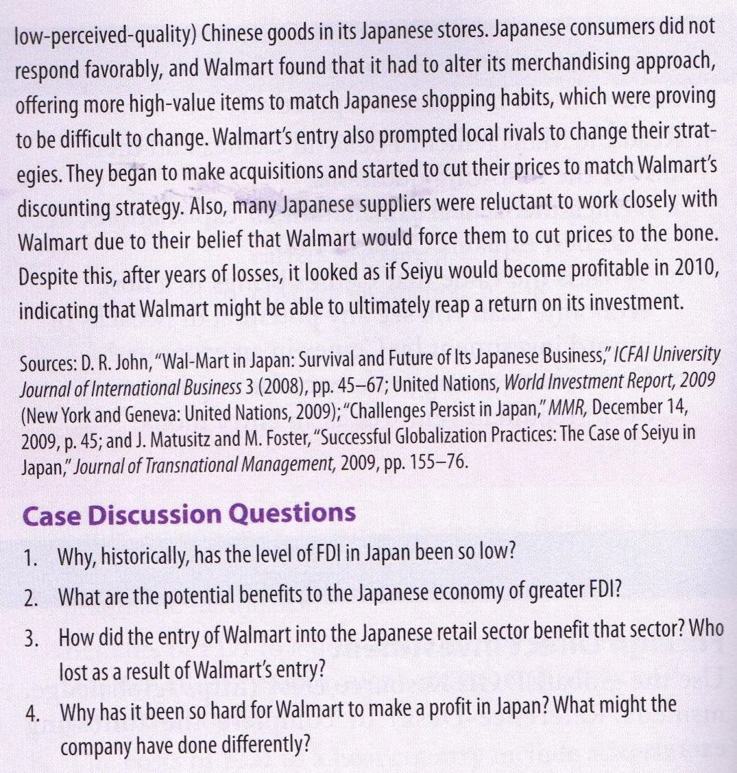 case study bharti walmart essay Sample essay the research revolves around the idea that the entry of retail giants wal-mart is a success or failure in india since wal-mart failed in germany and south korea therefore these failures are identified and kept in mind in the indian expansion.