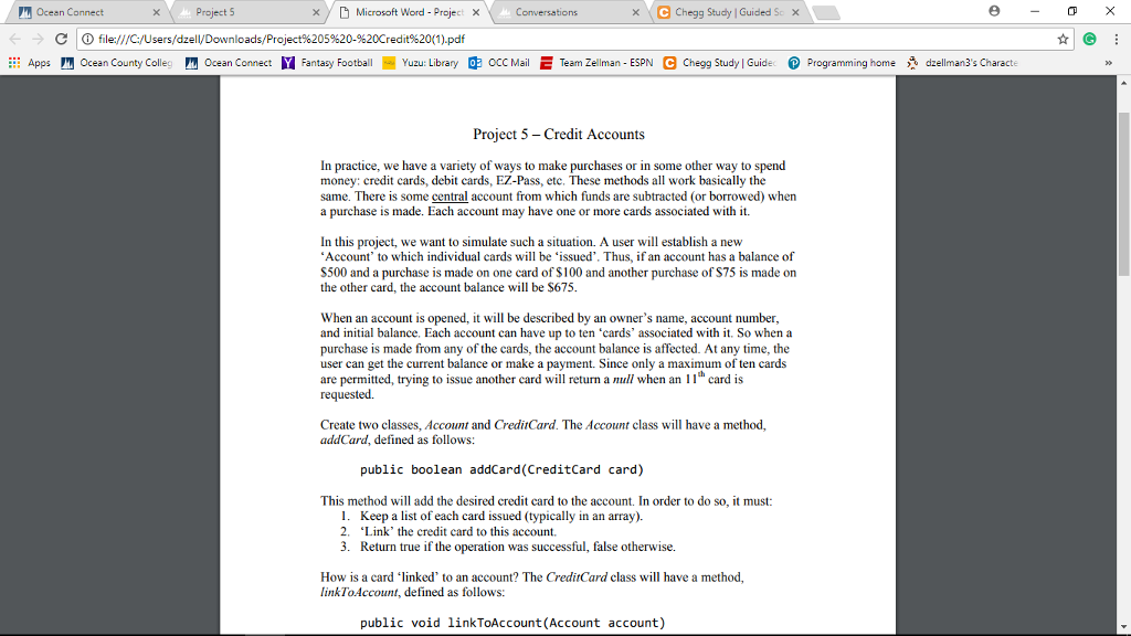 solved oceen connect project 5 d microsoft word projec rh chegg com ultimate study guide microsoft project 2013 ultimate study guide foundations microsoft project 2013