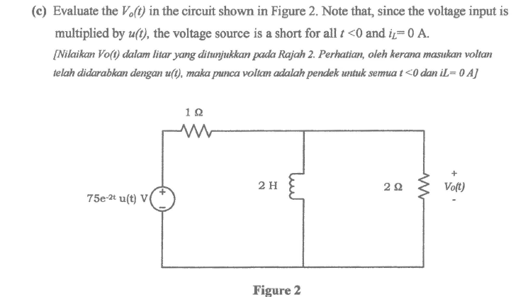 Electrical engineering archive may 31 2017 chegg c evaluate the vot in the circuit shown in figure 2 note ccuart Gallery