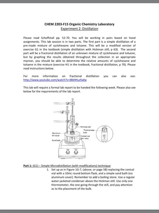 simple distillation lab report conclusion