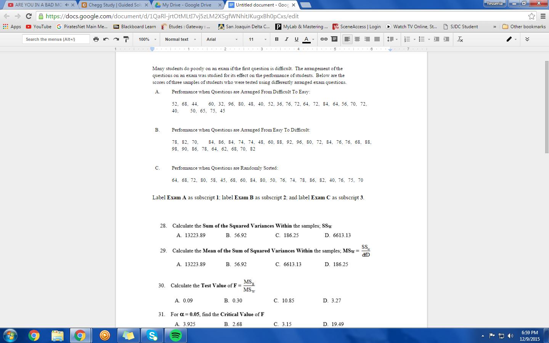 Solved: C ARE YOU IN A BAD MC X C Chegg Study I Guided S X
