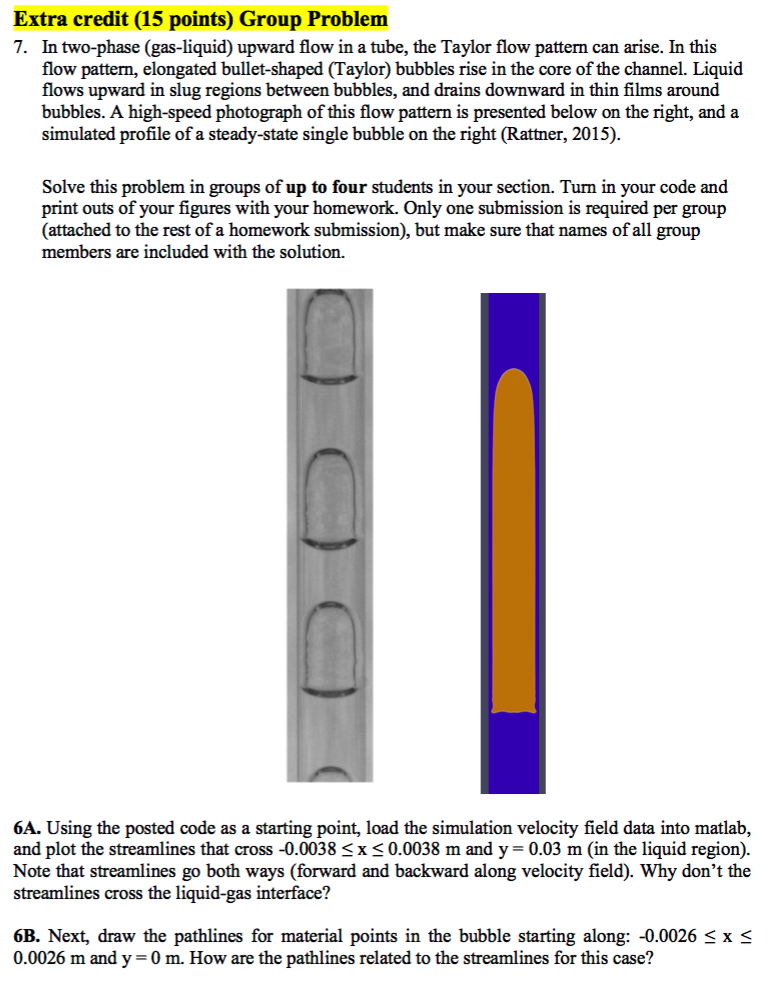 In Two-phase (gas-liquid) Upward Flow In A Tube, T    | Chegg com