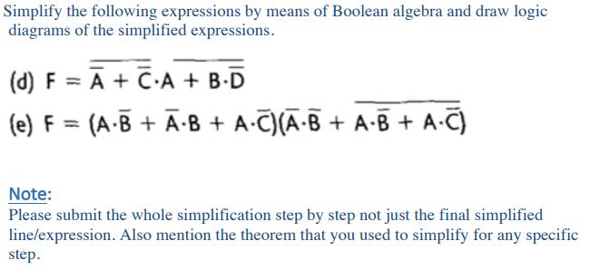 boolean algebra questions and answers pdf