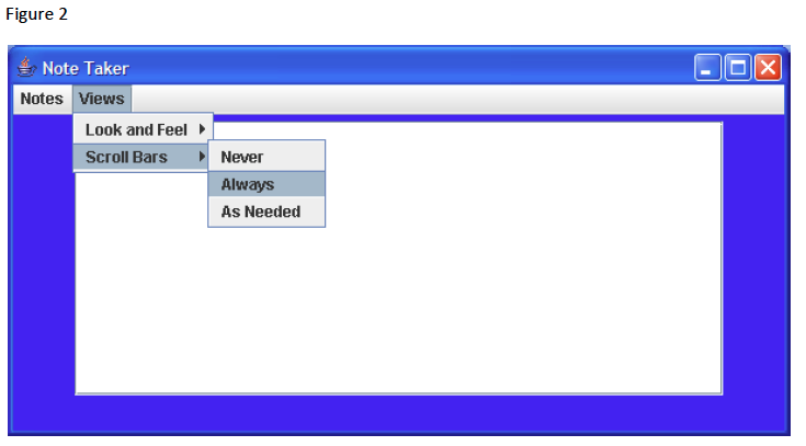 Solved Task 1 Creating A Menu With Submenus 1 Copy The