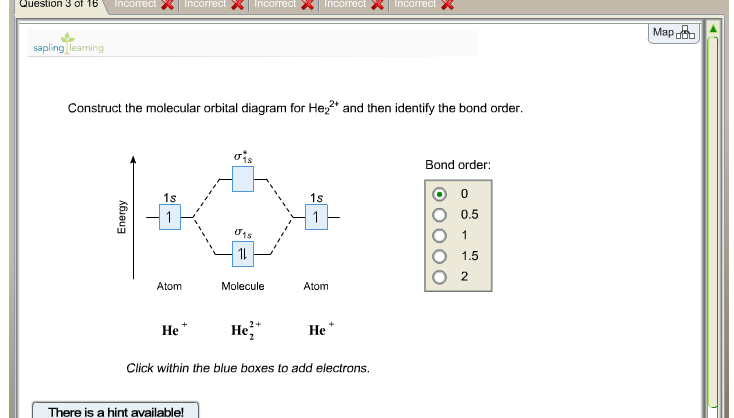 Solved  Construct The Molecular Orbital Diagram For He22 A