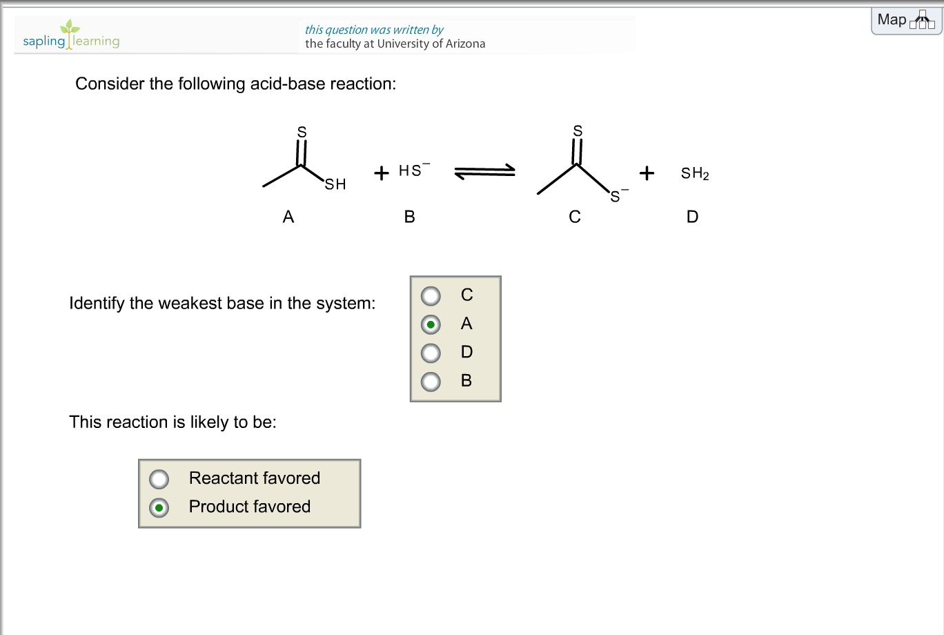Solved: Identify The Weakest Base In The System: How Can Y ...