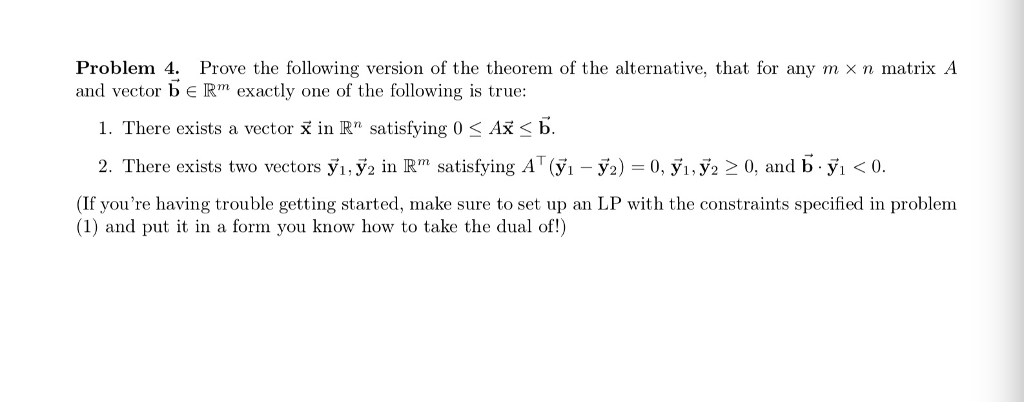 Problem 4: Prove The Following Version Of The Theo      Chegg com