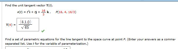 Solved: Find The Unit Tangent Vector T(t)  R(t) = + T^2i +