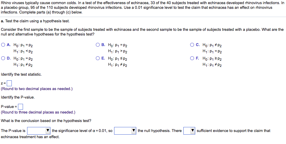 cause and effect sample questions
