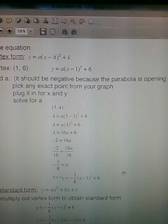 Solved Can You Show Me The Steps As In Example For Vertex
