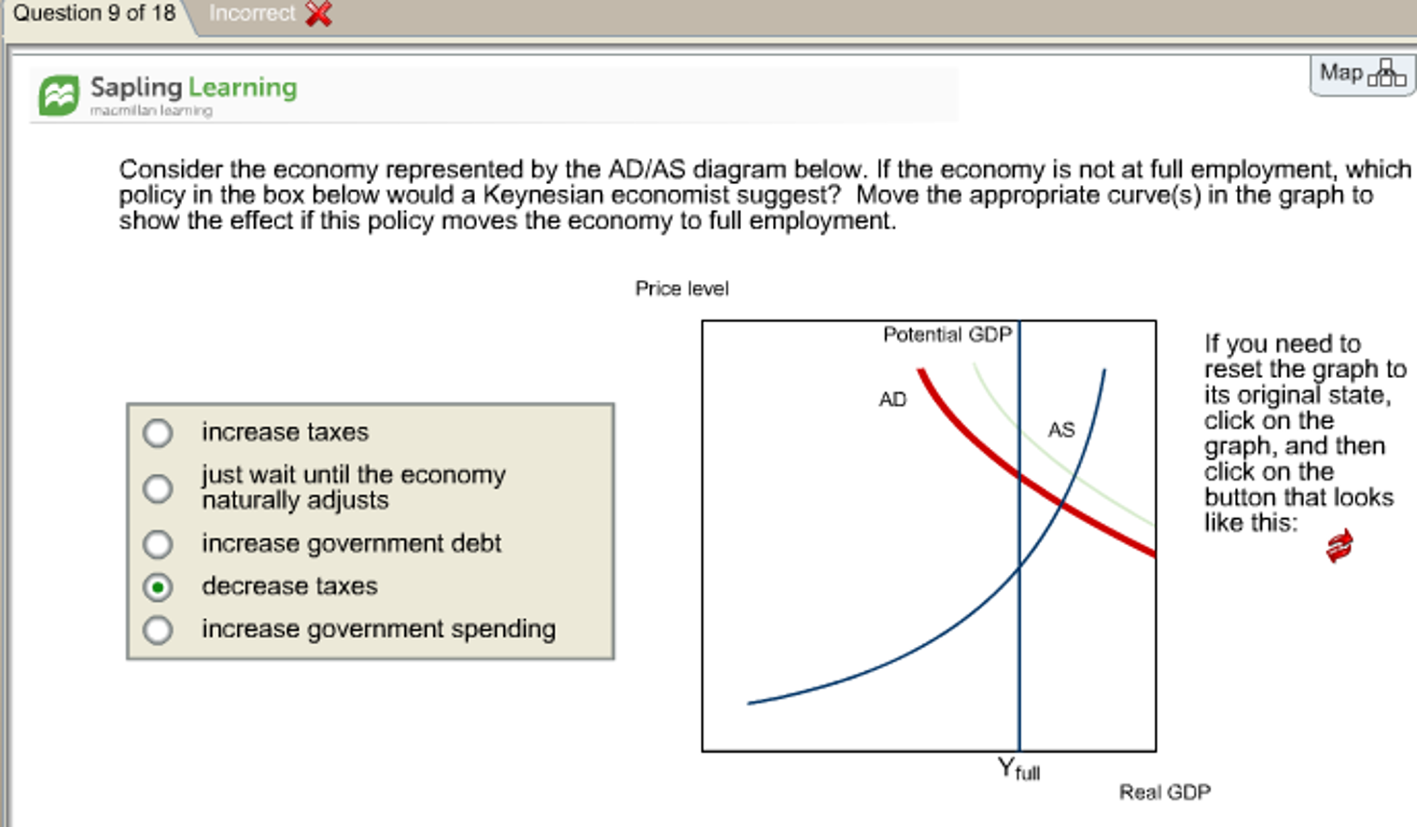 Employment Consider The Economy Represented By The Ad As Diag
