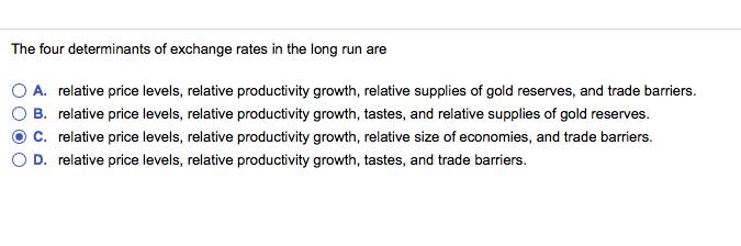 determinants of long run economic growth