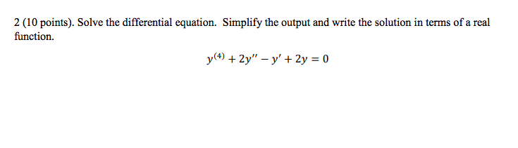 Solved: Use Mathematica To Solve This Problem  Please Show