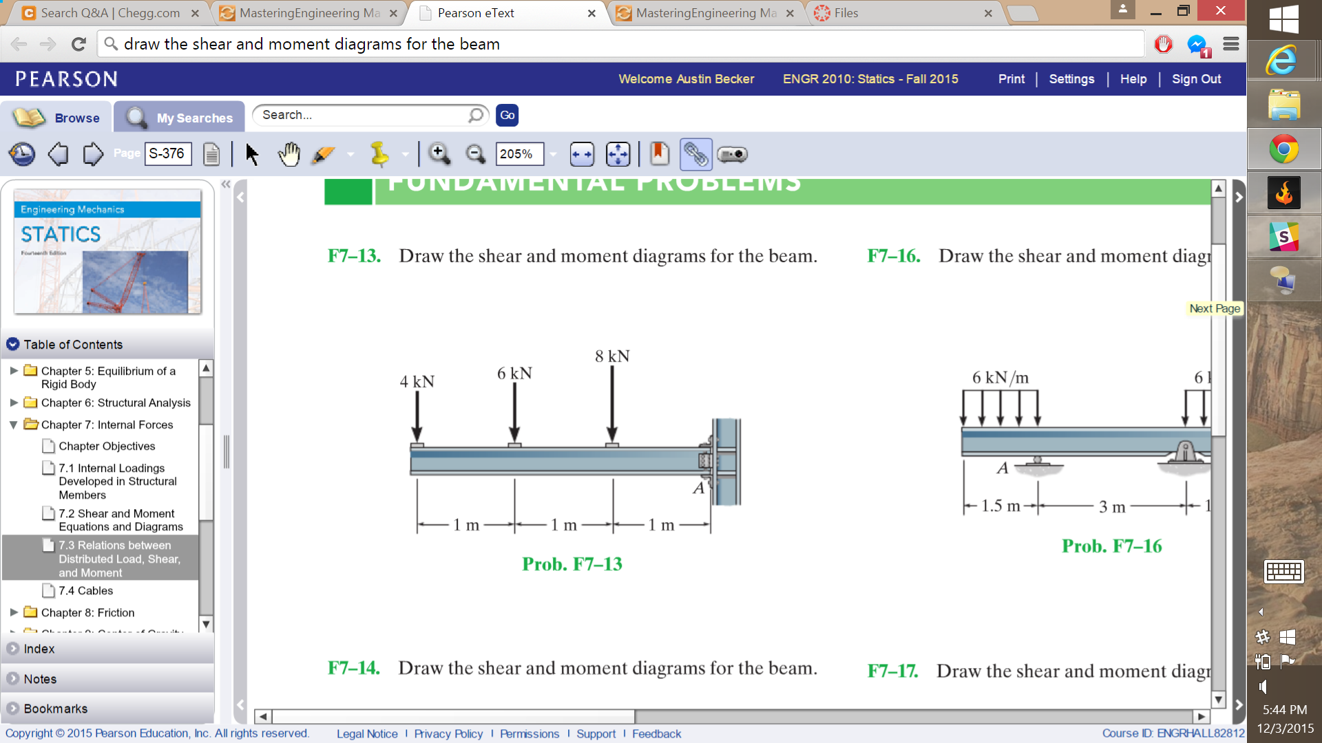 Beam Shear And Moment Diagrams Software Wiring Diagram For Draw The Cantilevered Chegg D Com Rh Chart Cantilever