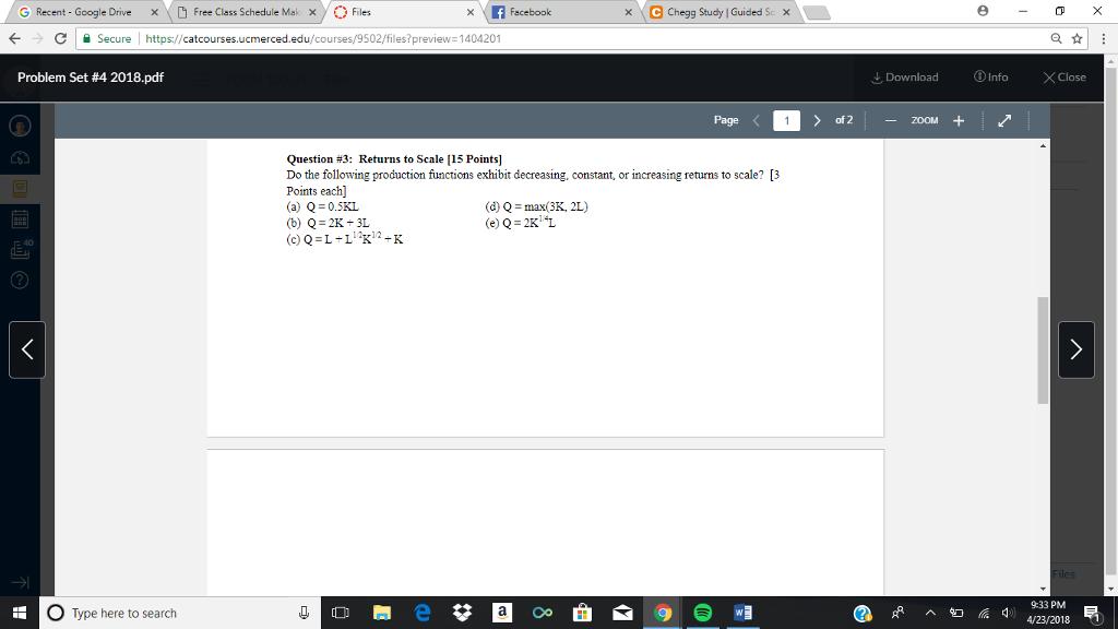 Solved: G Recent - Google Drive Free Class Schedule Mak X