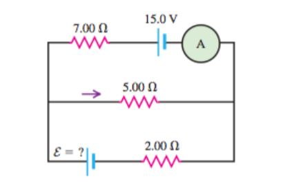 Solved In The Circuit Shown Below Current Flows Throug
