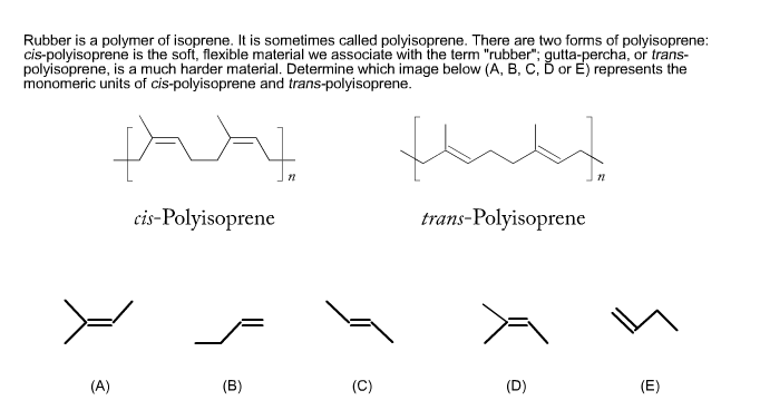 Solved: Rubber Is A Polymer Of Isoprene  It Is Sometimes C
