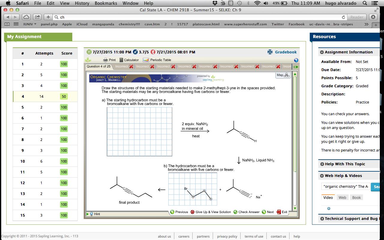 Solved: Safari File Edit View History Bookmarks Window Hel ...