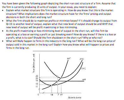 essay questions on market structure