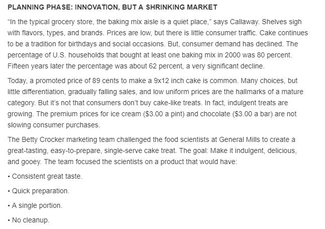 general mills case study