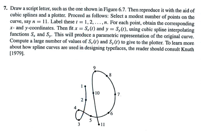 Draw A Script Letter, Such As The One Shown In Fig    | Chegg com