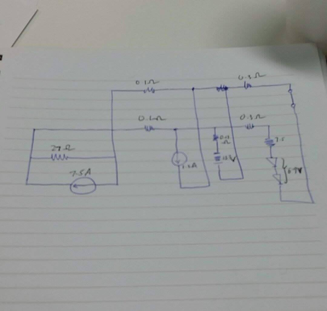 Solved: A) Draw A Circuit Diagram Of The System Described ...