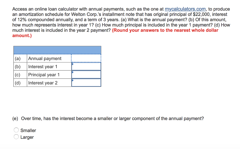 one time principal payment calculator