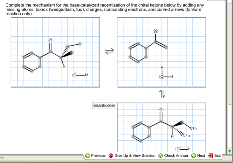 Race Solved Chegg Complete Base-catalyzed For com The Mechanism