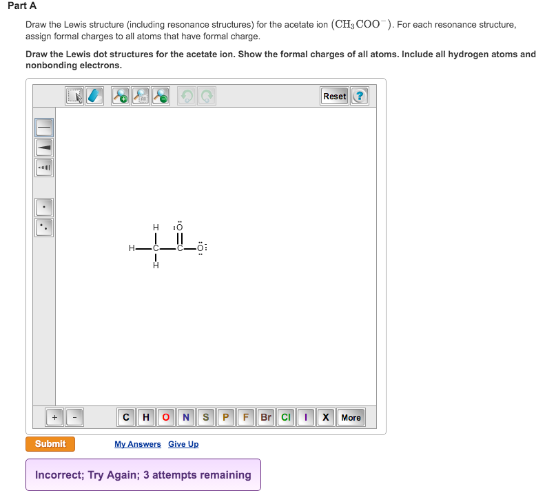 Draw The Lewis Structure Including Resonance Stru Chegg