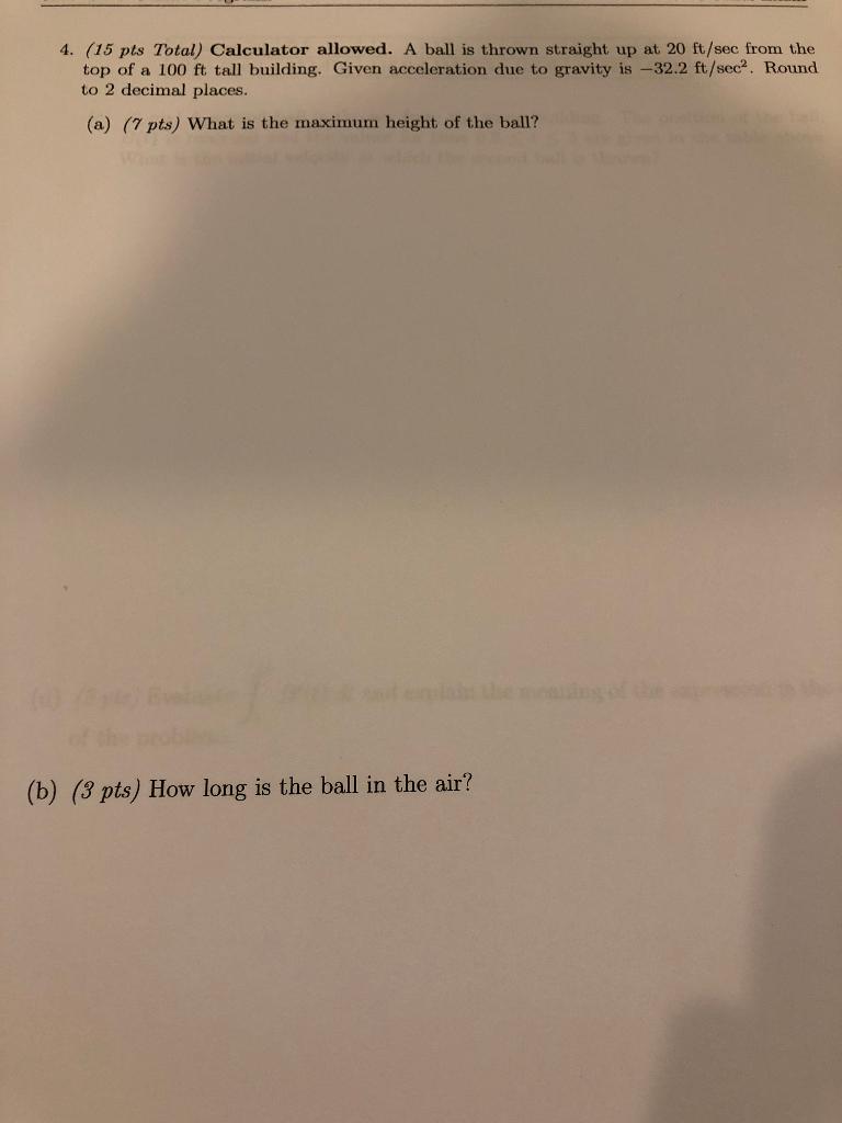 Solved: problem #4. (programming) calculator (20 pts) calc.