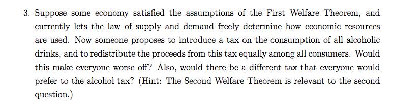 assumptions of law of demand