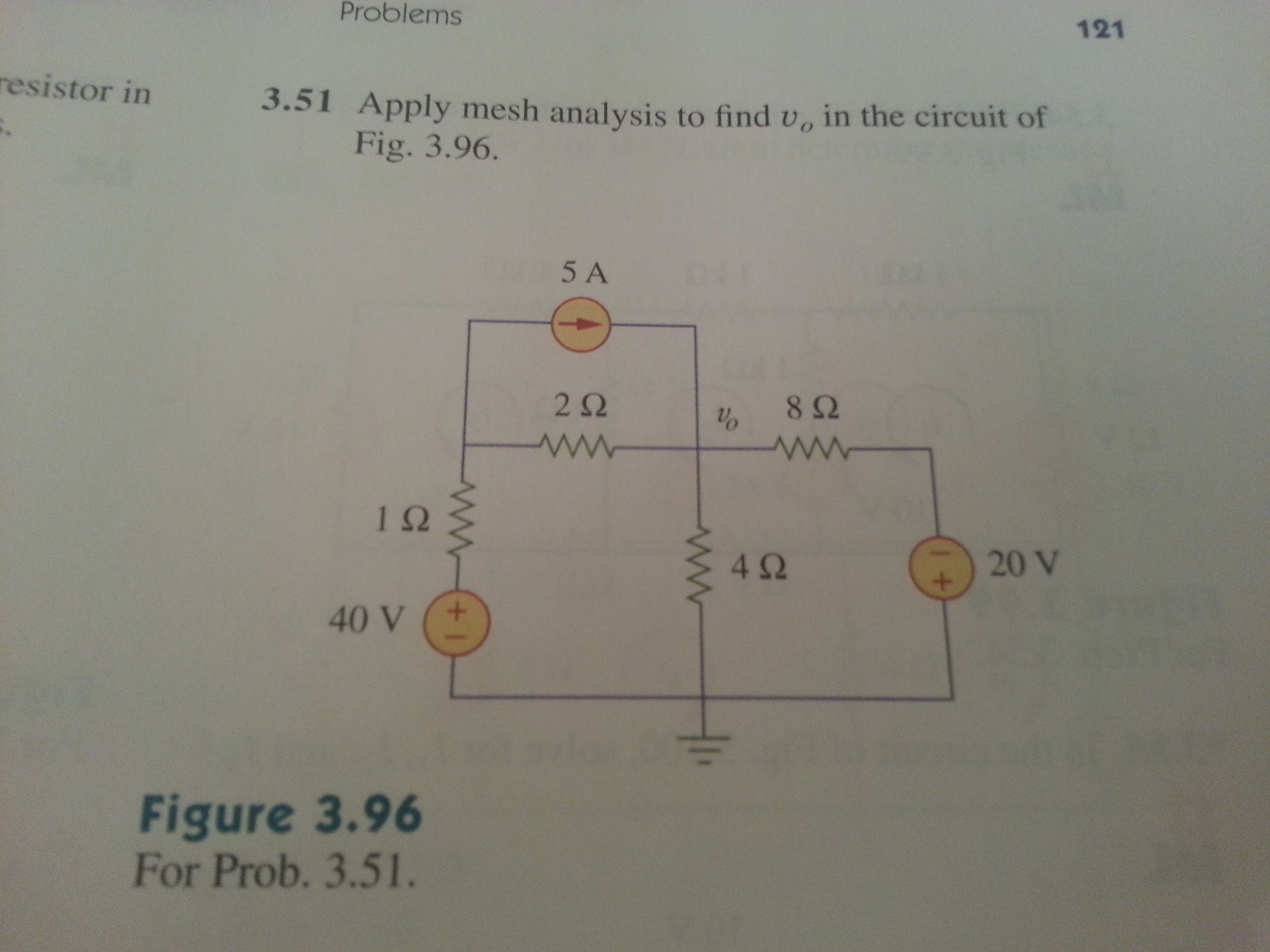 Rc Circuit Shown Below A Use Kcl Node Analysis To Find The