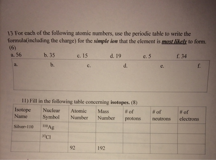 archives new modern periodic table with atomic mass and atomic number hd for each of the following atomic numbers use the